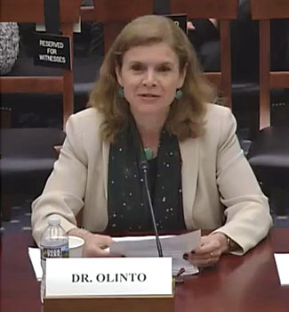 Angela Olinto: the 114th Congress Hearing - Astronomy, Astrophysics, and Astrobiology