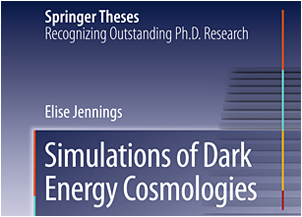 Elise Jennings has been awarded a Springer Thesis Prize