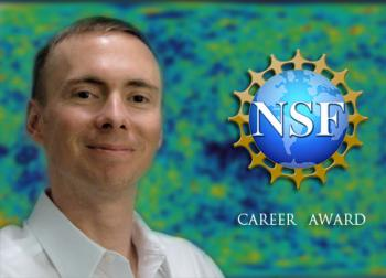 Erik Shirokoff has received a NSF CAREER award