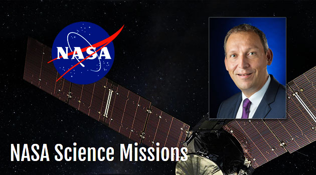 Picture: Dr. Thomas Zurbuchen, NASA Associate Administrator for the Science Mission Directorate, NASA Science Missions