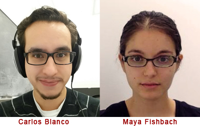 KICP graduate students Carlos Blanco and Maya Fishbach awarded the NSF Graduate Research Fellowship