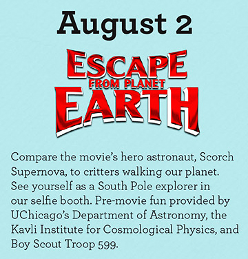 Picture: Midweek on the Midway: Escape from planet Earth