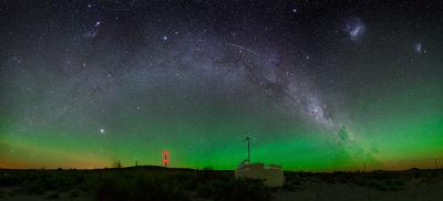 Watching the sky: a Cherenkov detector in Argentina