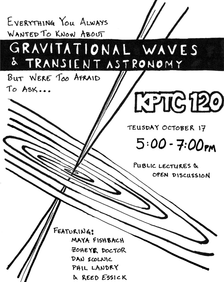 Picture: Public Lectures & Open Discussion: Gravitational Waves & Transient Astronomy