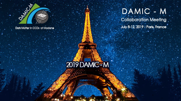 Picture: 2019 DAMIC-M: DAMIC-M collaboration meeting