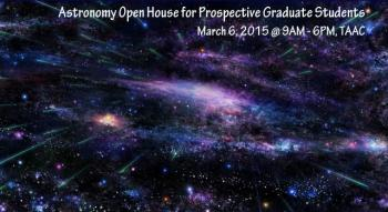 Picture: Astronomy Open House for Prospective Graduate Students