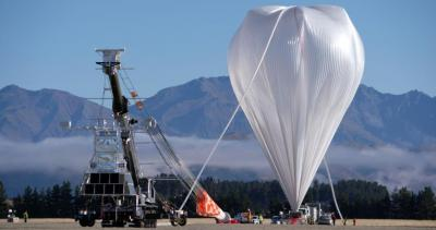 NASA's super-pressure balloon took flight at 10:50 a.m. local time April 25 (5:50 p.m. CST April 24) from Wanaka Airport in New Zealand. Scientists hope the balloon will stay afloat for up to 100 days, more than doubling the previous flight record of 46 days.