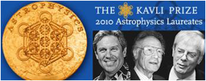 2010 Kavli Prize Laureates: Jerry Nelson, of the University of California, Santa Cruz, US, Ray Wilson, formerly of Imperial College London and the European Southern Observatory, and Roger Angel, of the University of Arizona, Tucson, US.