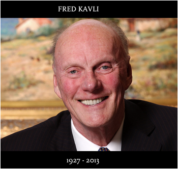 Fred Kavli, Founder and Chairman of The Kavli Foundation