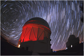 Technicians installed the $50 million Dark Energy Camera atop a telescope in Chile last year. <i>Image credit: Reidar Hahn/Fermilab</i>