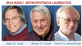 Nine Scientific Pioneers Receive the 2014 Kavli Prizes