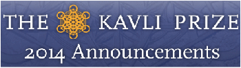 Picture: Announcement of the 2014 Kavli Prize Laureates