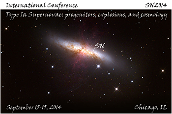 Picture: International conference: Type Ia Supernovae: progenitors, explosions, and cosmology