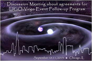 Picture: Discussion Meeting about agreements for LIGO-Virgo Event Follow-up Program