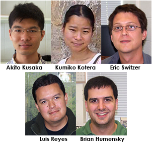 Congratulations to our postdoctoral fellows! They are moving up!