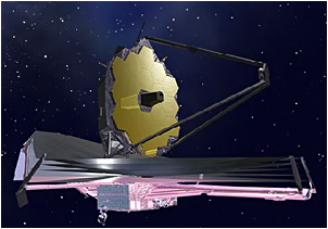 The James Webb Space Telescope.