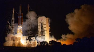 The Parker Solar Probe launches from Cape Canaveral at 2:31 a.m. CDT on Aug. 12. <i>Photo by Bill Ingalls/NASA</i>