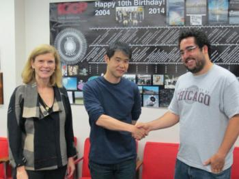 Congratulations to Vinicius Miranda for receiving the Schramm Fellowship