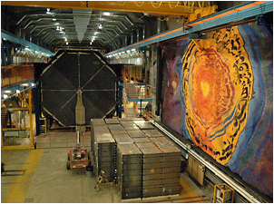 The Soudan mine hosts both the CDMSII and CoGeNT dark matter experiments.  <i>Photo credit: J. Davis/Wikimedia</i>