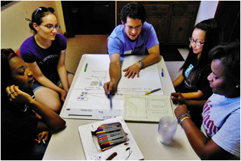 Picture: Colors Answers, Yerkes Summer Institute
